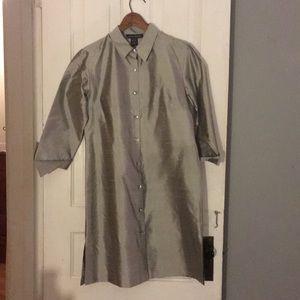 100% Silk Platinum dress
